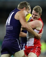 AFL 2013 Rd 08 - Sydney v Fremantle