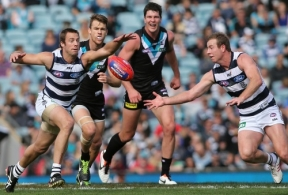 AFL 2013 Rd 09 - Port Adelaide v Geelong