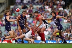 AFL 2013 Rd 09 - Fremantle v Melbourne