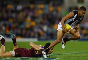 AFL 2013 Rd 10 - Brisbane v Collingwood