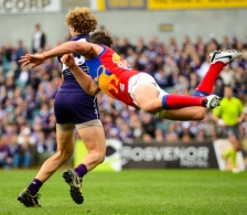 AFL 2013 Rd 12 - Fremantle v Brisbane