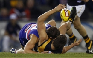AFL 2013 Rd 13 - Western Bulldogs v Richmond