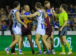 AFL 2013 Rd 16 - Brisbane v North Melbourne
