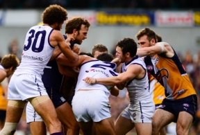 AFL 2013 Rd 16 - West Coast v Fremantle