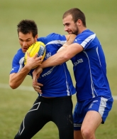 AFL 2013 Training - North Melbourne 160713