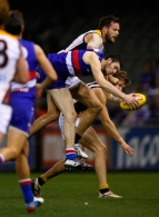AFL 2013 Rd 18 - Western Bulldogs v West Coast Eagles
