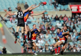 AFL 2013 Rd 18 - Port Adelaide v Brisbane