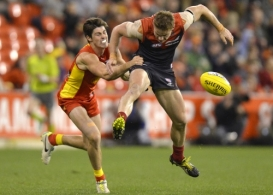 AFL 2013 Rd 20 - Gold Coast v Melbourne