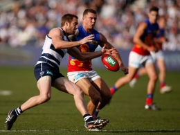 AFL 2013 Rd 23 - Geelong v Brisbane