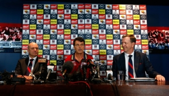 AFL 2013 Media - Melbourne Press Conference 060913
