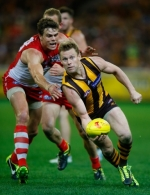 AFL 2013 1st Qualifying Final - Hawthorn v Sydney