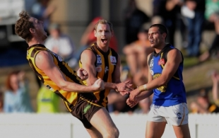 VFL 2013 1st Preliminary Final - Box Hill Hawks v Werribee Tigers