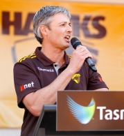 AFL 2013 Media - Hawthorn Family Day