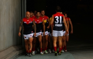 AFL 2014 NAB Challenge - Richmond v Melbourne