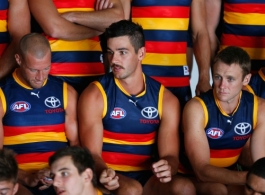 AFL 2014 Media - Adelaide Crows Team Photo Day