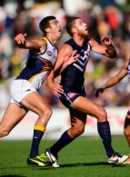 AFL 2014 NAB Challenge - Fremantle v West Coast
