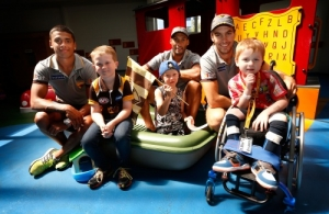 AFL 2014 Media - Hawthorn Community Camp Day 1