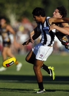 AFL 2014 NAB Challenge - Collingwood v Richmond