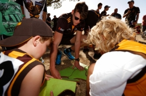 AFL 2014 Media - Aus Post Community Camps