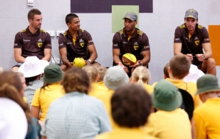 AFL 2014 Media - Hawthorn Community Camp Day 3