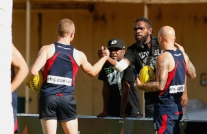 AFL 2014 Training - Melbourne 270214