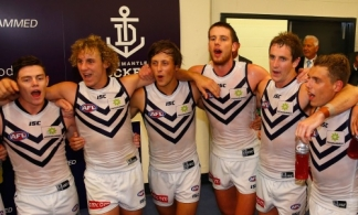 AFL 2014 Rd 01 - Collingwood v Fremantle