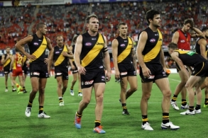 AFL 2014 Rd 01 - Gold Coast v Richmond