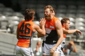 AFL 2014 Rd 02 - St Kilda v GWS Giants