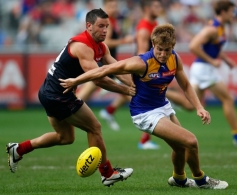 AFL 2014 Rd 02 - Melbourne v West Coast