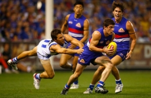 AFL 2014 Rd 02 - Western Bulldogs v North Melbourne