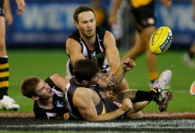 AFL 2014 Rd 04 - Richmond v Collingwood