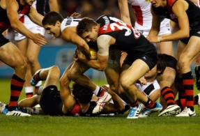AFL 2014 Rd 05 - Essendon v St Kilda