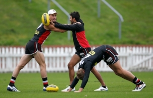 AFL 2014 Training - St Kilda 240414
