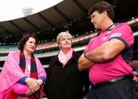 AFL 2014 Media - Field of Women Press Conference