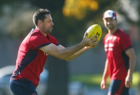 AFL 2014 Training - Melbourne 080514