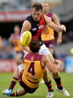 AFL 2014 Rd 08 - Brisbane v Essendon