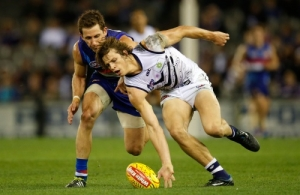 AFL 2014 Rd 11 - Western Bulldogs v Fremantle
