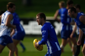AFL 2014 Training - North Melbourne 050614