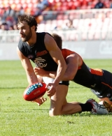 AFL 2014 Rd 14 - GWS Giants v Carlton