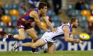 AFL 2014 Rd 15 - Brisbane v North Melbourne