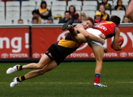 AFL 2014 Rd 16 - Richmond v Brisbane