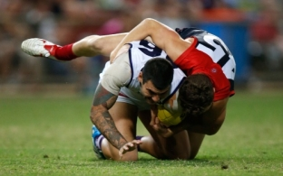 AFL 2014 Rd 16 - Melbourne v Fremantle
