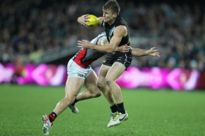AFL 2014 Rd 16 - Port Adelaide v Essendon