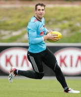 AFL 2014 Training - Essendon 100714