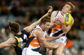 AFL 2014 Rd 19 - Richmond v GWS Giants