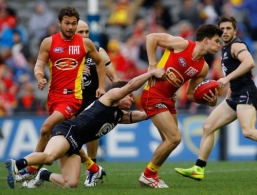 AFL 2014 Rd 20 - Carlton v Gold Coast