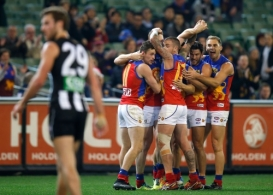 AFL 2014 Rd 21 - Collingwood v Brisbane