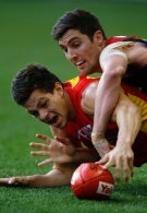 AFL 2014 Rd 22 - Essendon v Gold Coast