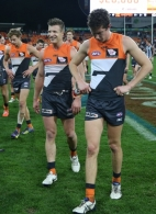AFL 2014 Rd 22 - GWS Giants v Collingwood
