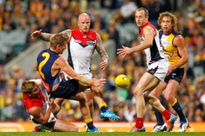 AFL 2014 Rd 22 - West Coast v Melbourne